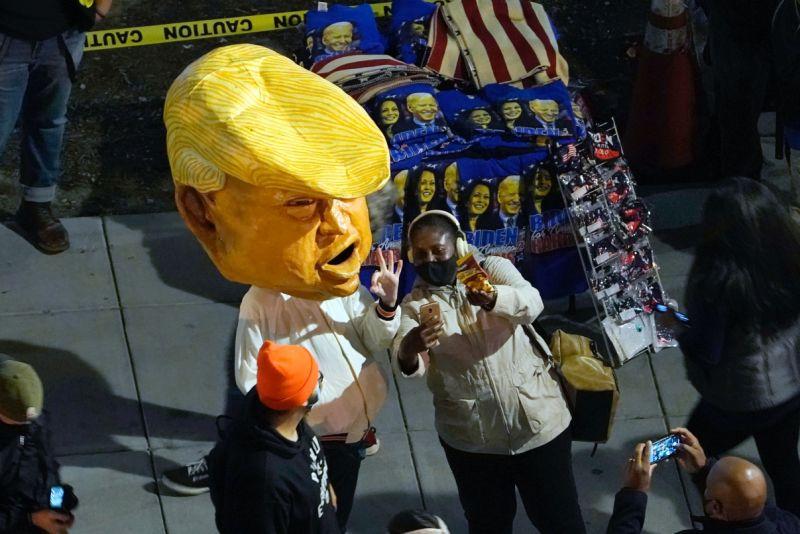 ▲2020美國總統大選於美國時間11月3日投票。(圖/美聯社/達志影像)
