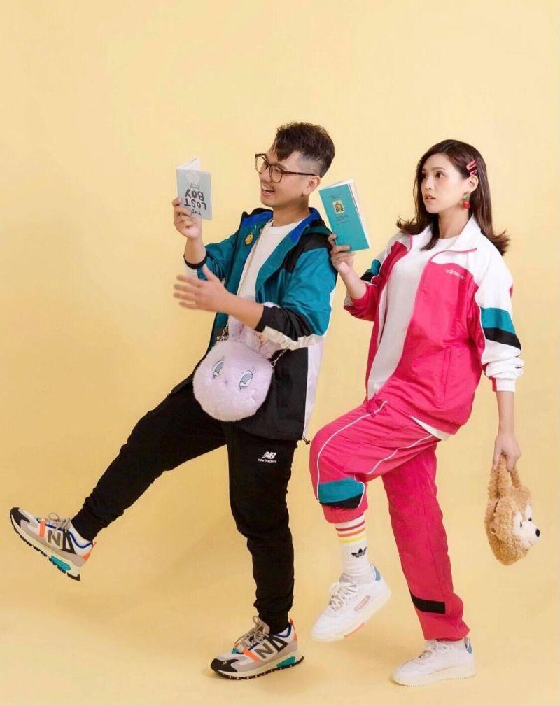 ▲陳夏民(左)、夏宇童結緣台北國際書展。(圖/五熊國際提供)