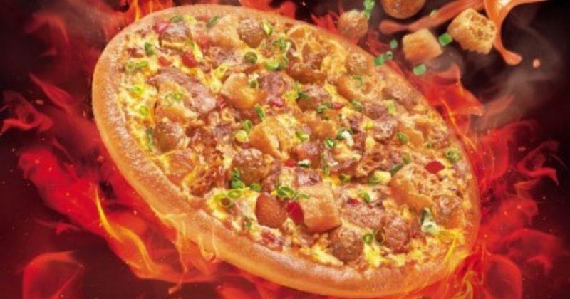 必勝客再推怪口味比薩!網友嘲:鍋底可以續嗎?