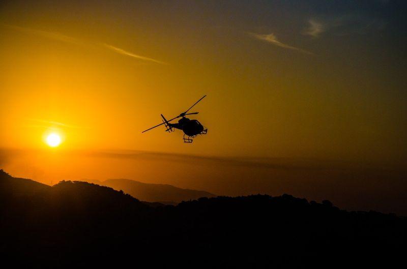 國軍直升機嚇哭孩子!人夫火大嗆「絕對投訴」:滾回<b>營區</b>