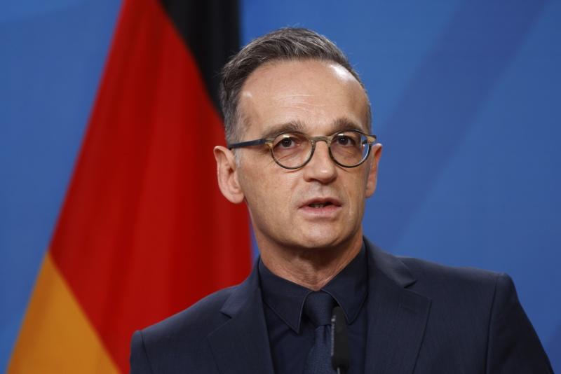 ▲德國外交部長馬斯呼籲美國政界尊重選民的選擇,維護美國的民主與選舉制度。(圖/美聯社/達志影像)