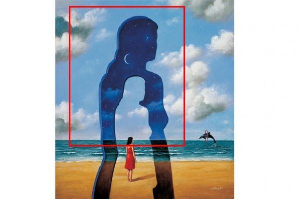 ▲第一眼看見星空中的女人的你,是想法很多、內心有許多思緒的人。(圖/翻攝自星座好朋友)