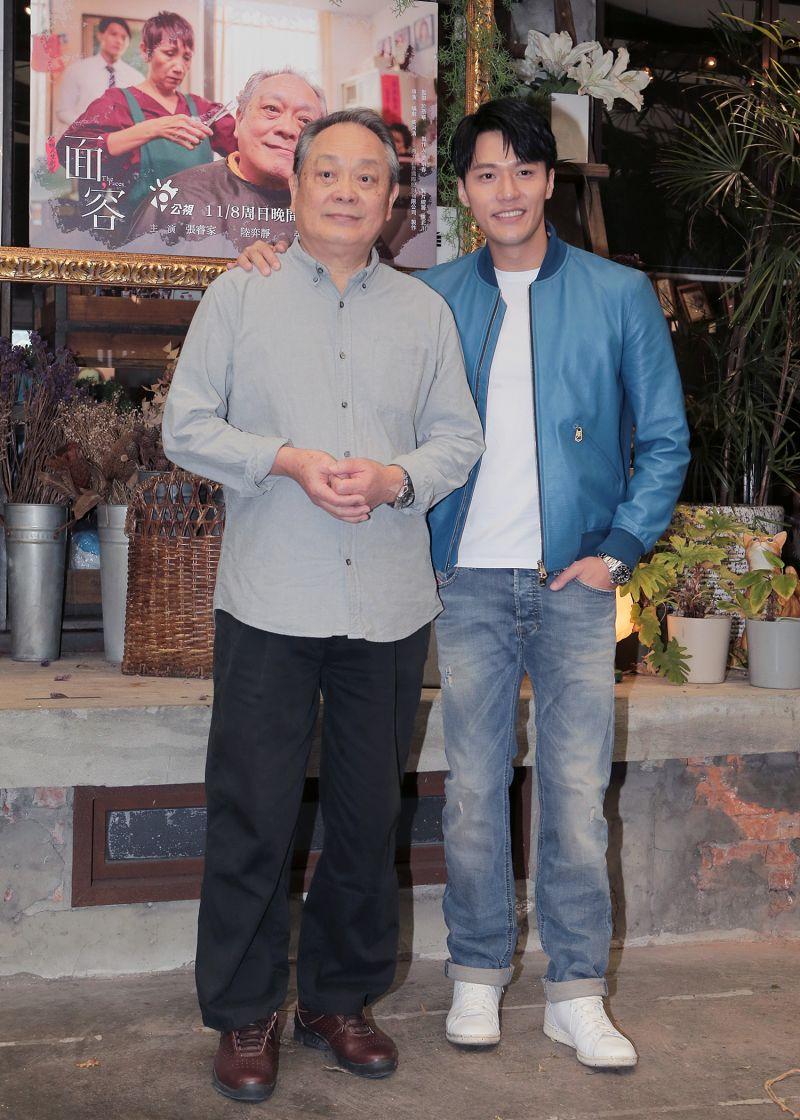 ▲張復建(左)、張睿家在劇中飾演父子。(圖