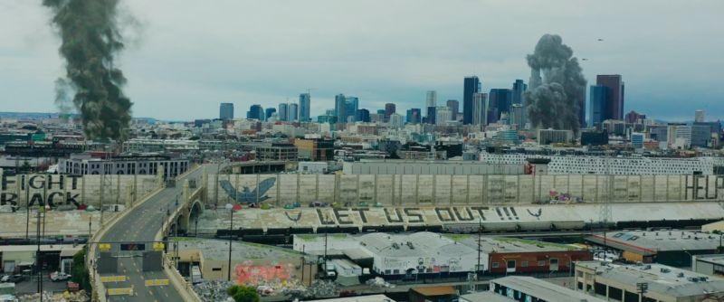 ▲《末世戰疫:鳴鳥檔案》是在洛杉磯封城期間拍攝。(圖/車庫)