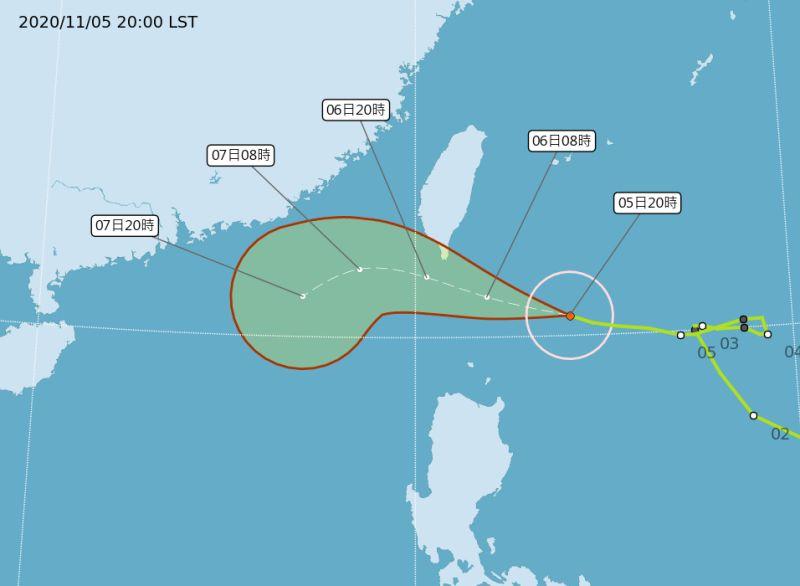 閃電颱風逼台!路徑逐漸偏北 「3地區」嚴防豪雨