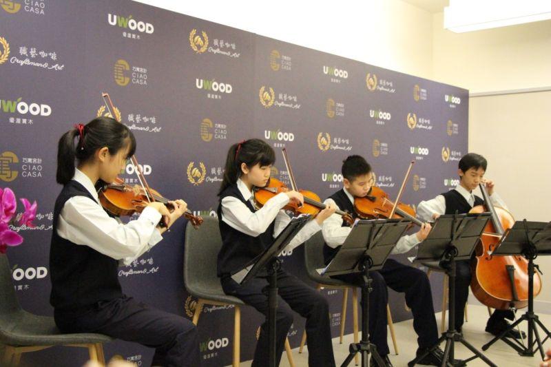 ▲由參加全國賽屢獲佳績的林口國中弦樂團,精彩演奏揭開序幕。(圖/資料照片)