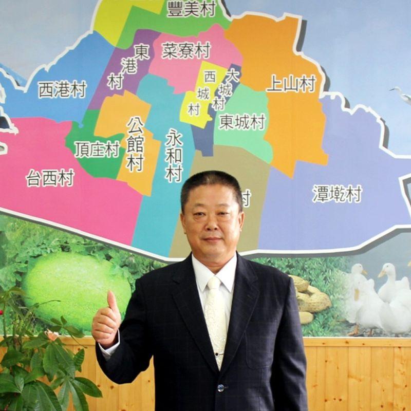 ▲大城鄉長蔡鴻喜涉嫌向綠能廠商索賄。(蔡鴻喜臉書)