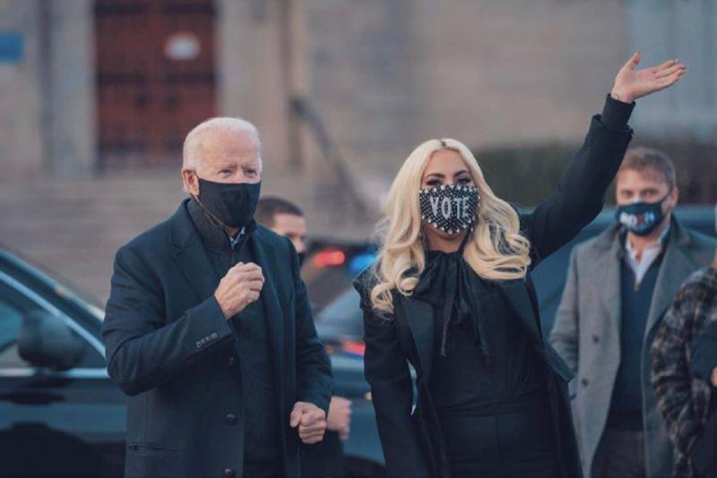 ▲女神卡卡(Lady Gaga)在得知拜登當選消息後,隨即在推特發文表達喜悅,並喊話要川普快承認敗選結果。(圖/翻攝自女神卡卡IG)