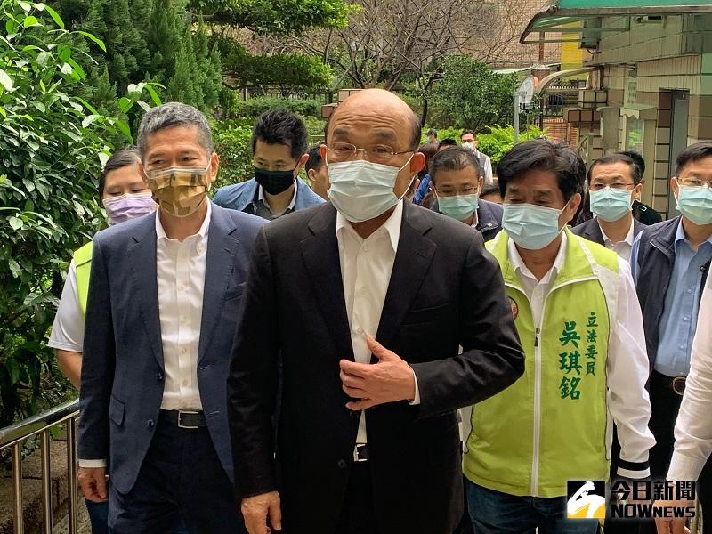 遭質疑逾越總統職權 蘇貞昌:我和她有最好的默契