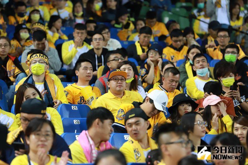 中信兄弟台灣大賽再次輸球,球迷神情沒落