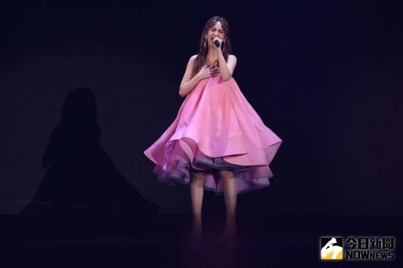 ▲楊丞琳在台北小巨蛋舉辦演唱會。(圖/記者林柏年攝