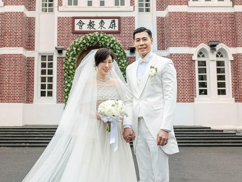 <b>KIMIKO</b>百年教堂大婚 新郎初見岳父爆哭:比中樂透還難