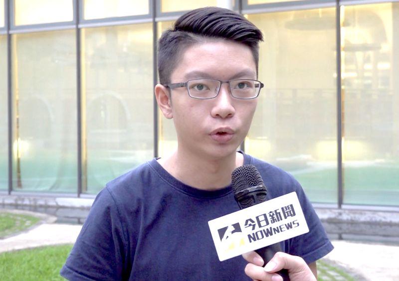 ▲黃彥誠則表示,如果只有投票權,青年雖然可以選擇,但還是只能選擇35歲上的直轄市長和40歲以上的總統,其實是沒辦法充分代表青年的聲音的。(圖/記者朱永強攝)