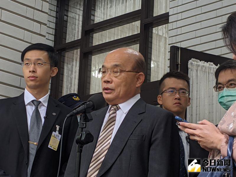 國民黨抬豬杯葛議事 蘇貞昌:如果豬會講話一定也煩死
