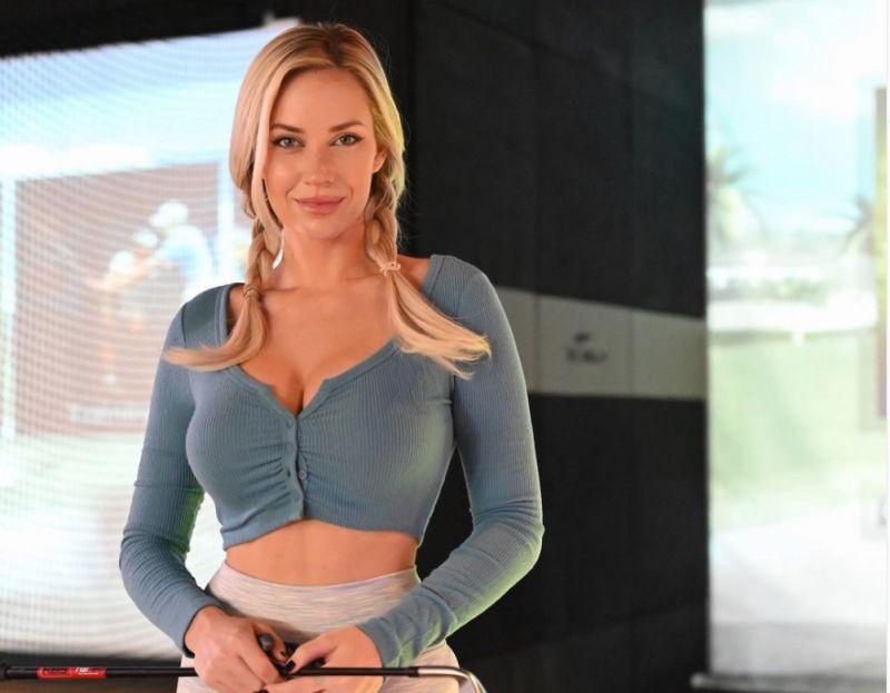▲美國高球美女運動員Paige