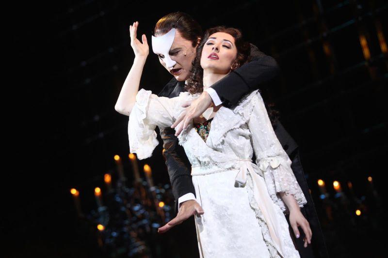 《歌劇魅影》演員抵台隔離 大讚台灣「全球最安全地方」