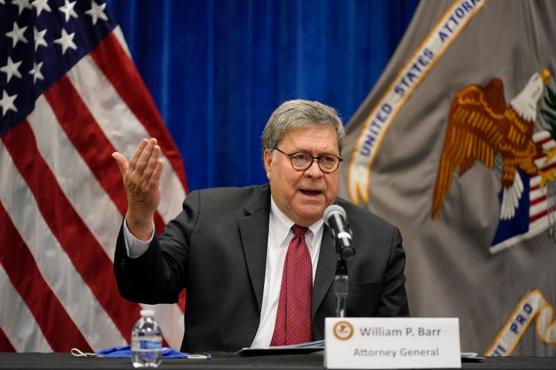 美國司法部長威廉巴爾