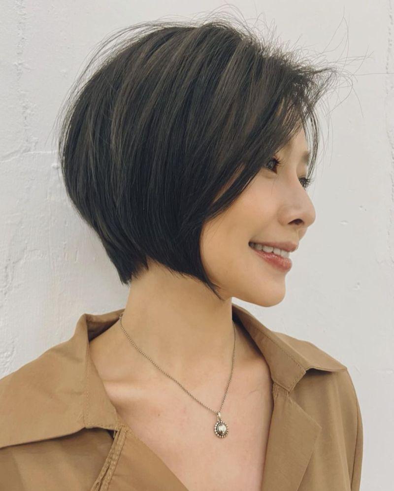 ▲吳婉君剪了一頭俏麗的短髮。(圖/吳婉君IG)