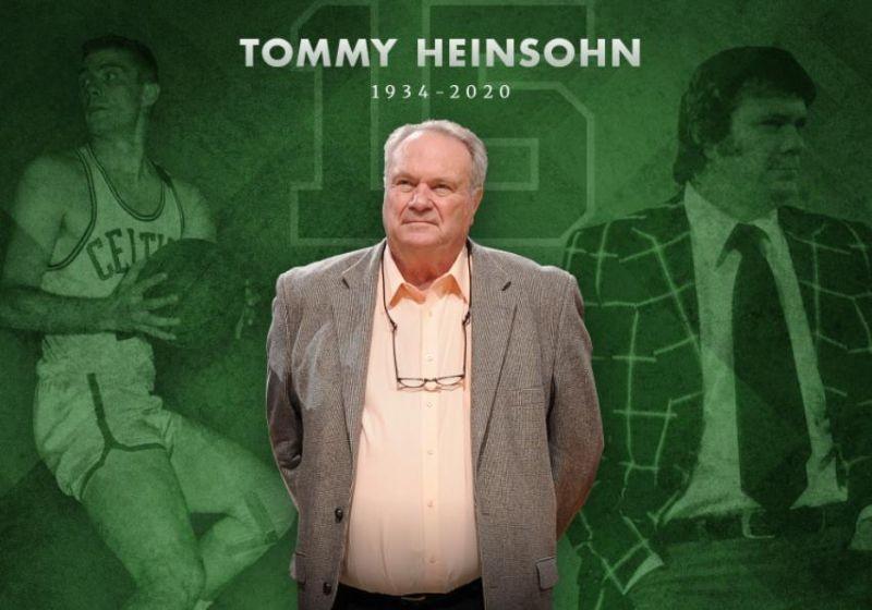 NBA/生涯率隊奪得10冠 綠軍傳奇Heinsohn今離世