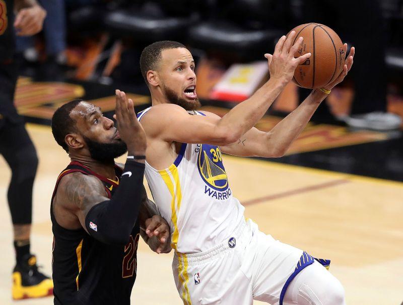 NBA/祝賀詹皇和湖人奪冠 Curry:這給了我新賽季動力