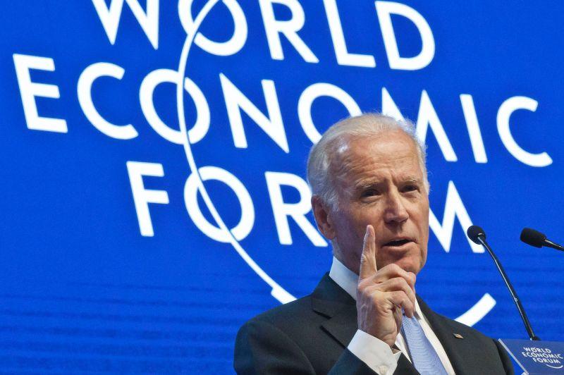 拜登於2016年出席世界經濟論壇
