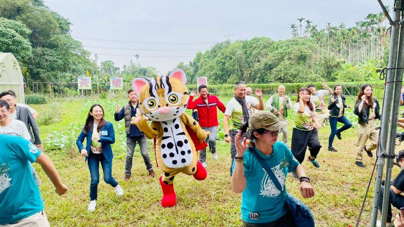 ▲家樂福舉辦「關懷友善石虎環境保育,農作產地體驗之旅」。(圖/家樂福提供)