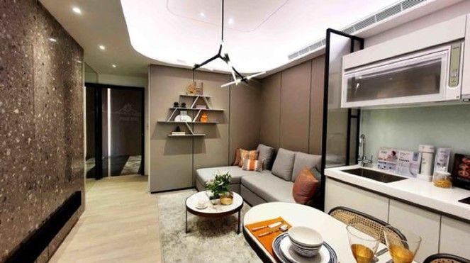 ▲上圖為「高妍植」的18坪房型,建商高效地運用空間設計,營造更加寬敞與舒適的居家氛圍。(圖/品牌提供