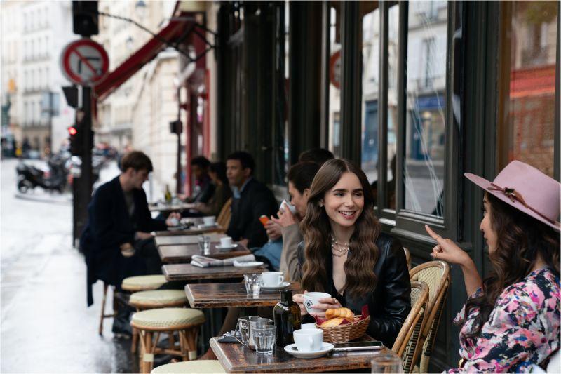 ▲影集《艾蜜莉在巴黎》討論度極高。(圖