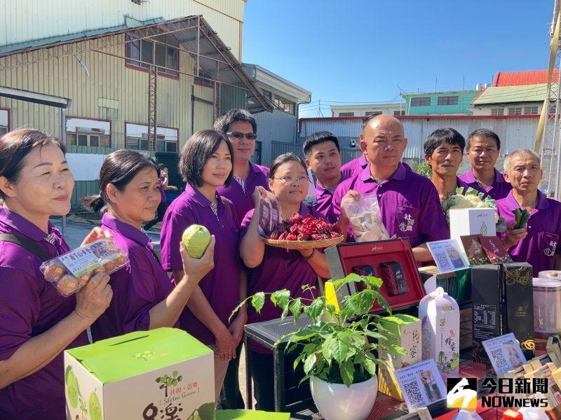 ▲社頭農遊芭樂季將由青農展出創新農業。(圖/記者陳雅芳攝,2020.11.12)