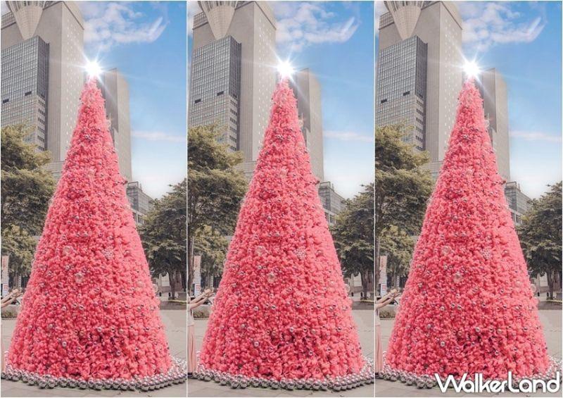 板橋大遠百 LOVE PINK耶誕樂園特別以全粉紅色的主題設計