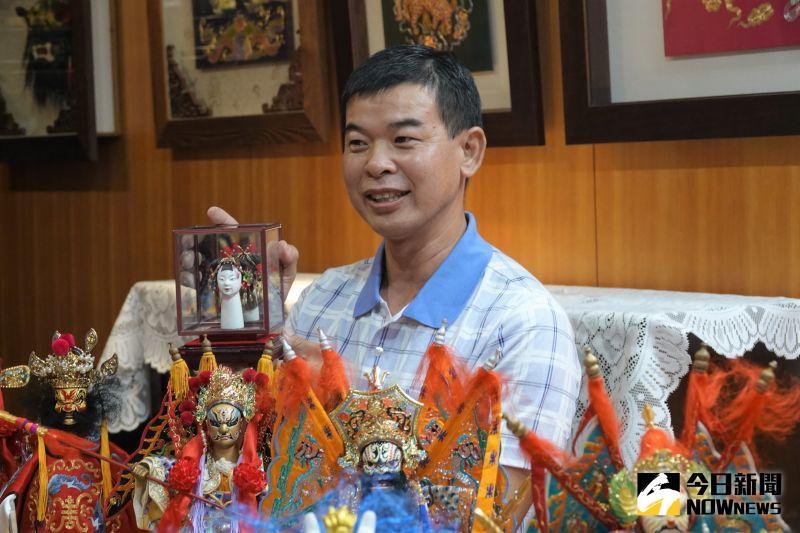 黃晉瑩收藏布袋戲偶