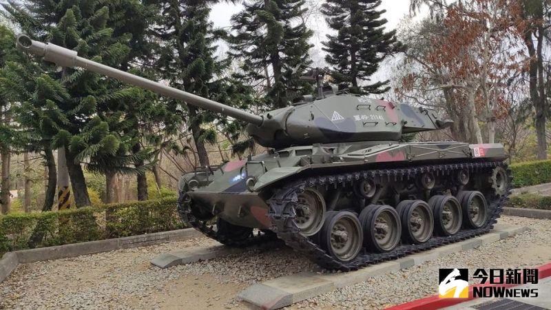 ▲M41A3戰車。(圖/記者呂炯昌攝)