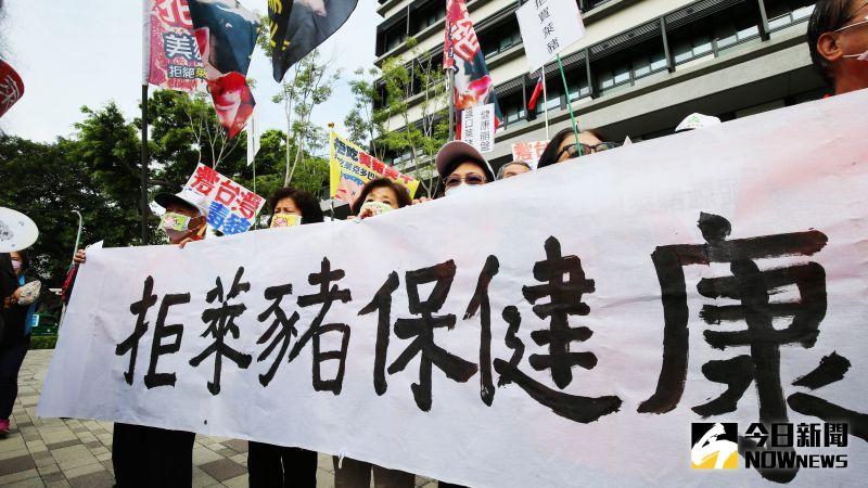 關心國人健康 消保會發起拒吃萊豬萊牛抗議行動