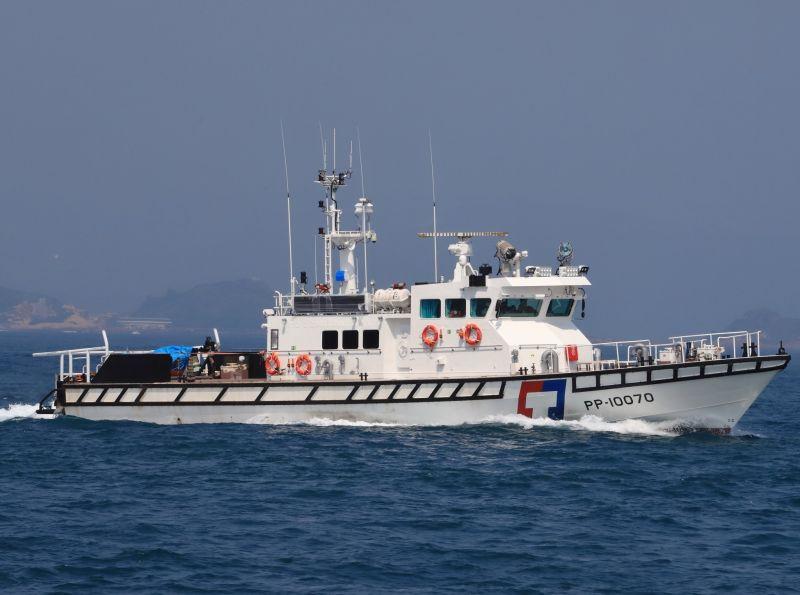 海上巡防生力軍 海巡署建造巡防艇交船