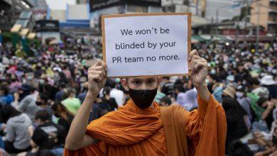 泰國<b>和尚</b>被禁止參與示威 僧人怒嗆:會持續力挺