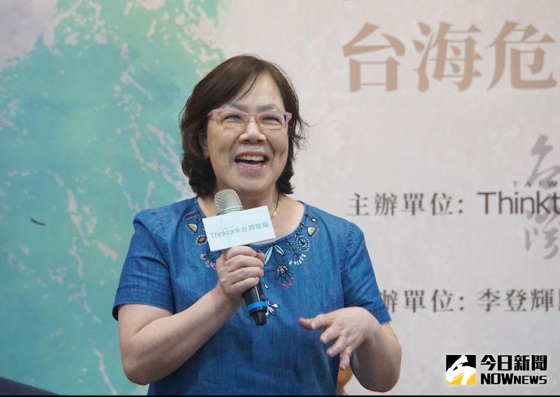 ▲故總統李登輝的女兒李安妮。(圖/記者呂炯昌攝.2020.11.15)