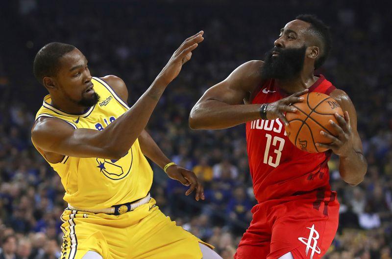 NBA/聯手拿下7座得分王!KD和Harden再度同隊