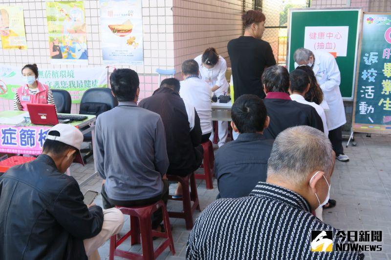 ▲衛生福利部彰化醫院舉行一場特別的「畢業生返校活動」。(圖/記者陳雅芳攝,2020.11.16)