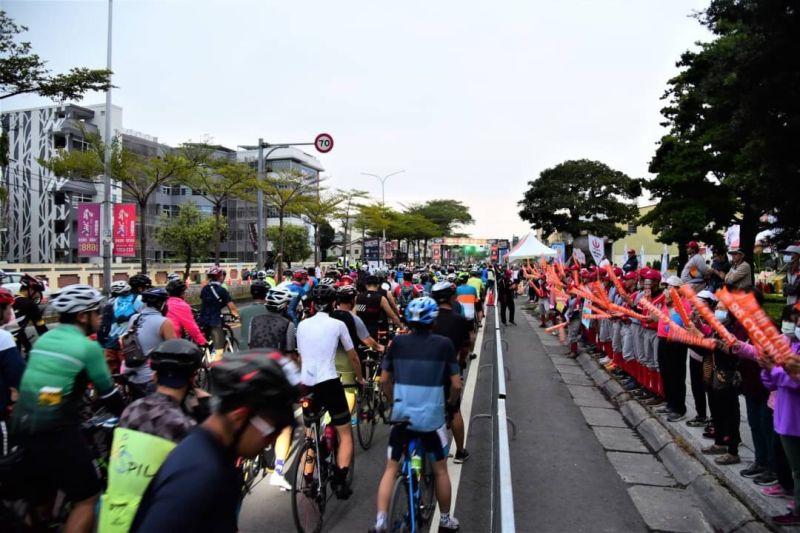 ▲「96自転車系列賽—彰化讚!」雙向封省道創舉。(圖/96自転車提供)