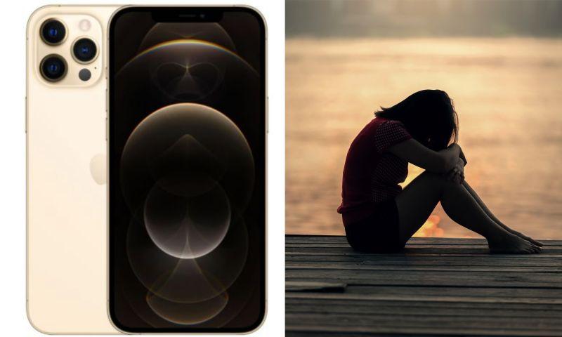 ▲一名女網友出4萬元,送男友最新款iPhone12 Pro Max,還花了1萬7請吃高級餐廳,豈料男友竟酸「1句」,讓她超心寒。(左圖,翻攝自蘋果官網/右示意圖,取自pixabay )