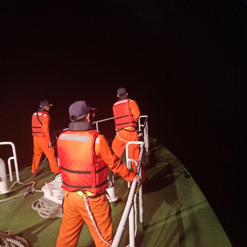 影/F-16戰機雷達光點消失在花蓮外海 海空搜救畫面曝光