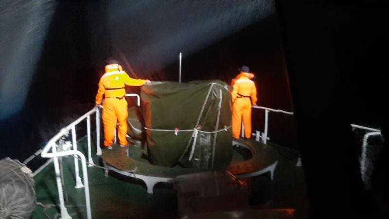 ▲國軍F-16戰機雷達光點昨(17)晚消失在花蓮外海,目前海空仍在積極搜救中。(圖/記者鄭志宏翻攝)