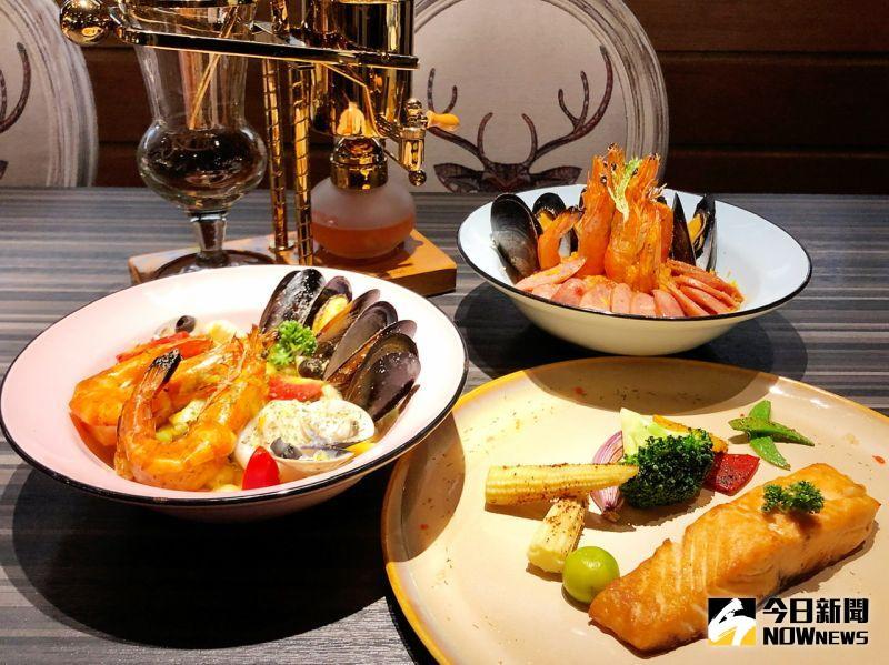 ▲主廚以創新的料理手法,延續歐洲飲食的傳統,打造融合味蕾與視覺的繽紛饗宴。(圖/記者陳美嘉攝,2020.11.18)