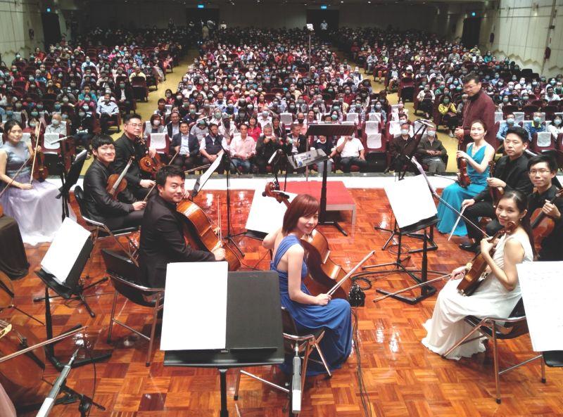 音樂饗宴 <b>台灣中油</b>舉辦台灣人的古典音樂會