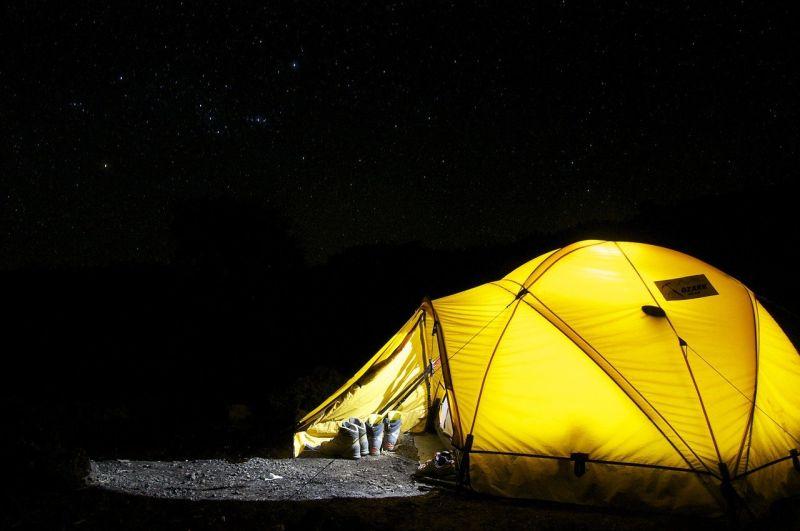 ▲露營是近來相當受歡迎的旅遊方式。(圖/Pixabay)