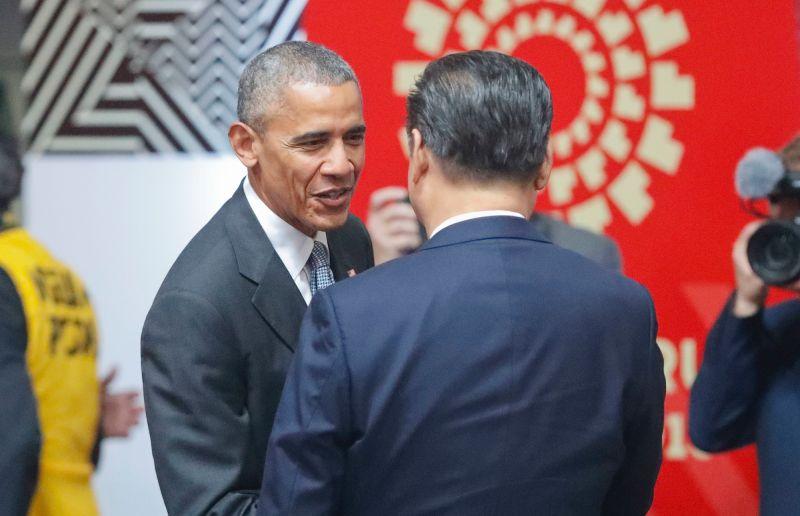 <b>歐巴馬</b>回憶首次訪中國遭監控 美中角力暗潮洶湧