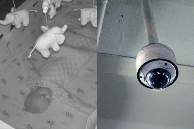 ▲澳洲一名女子在半夜聽見寶寶監視器傳來陌生男子的聲音,讓她嚇壞了。(圖/翻攝自《Kiara》Twitter )