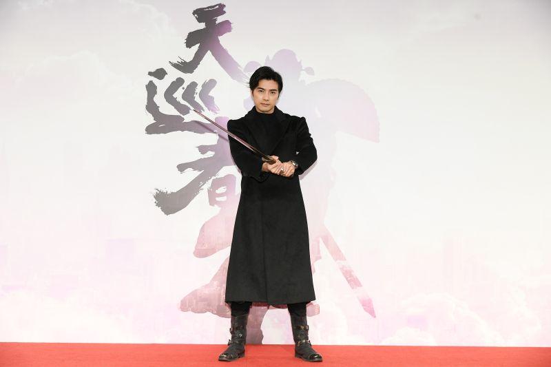 ▲賀軍翔在劇中飾演鍾馗。(圖