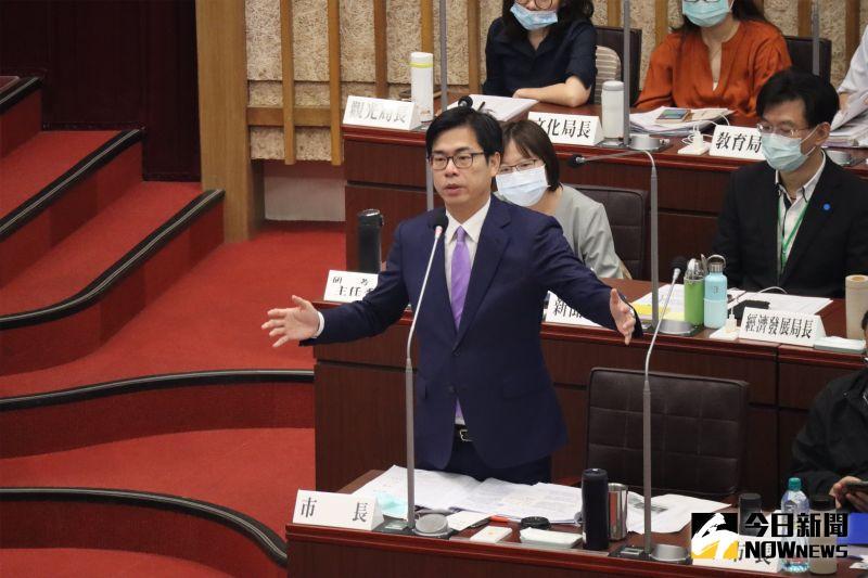 ▲高雄市長陳其邁希望NCC就換照事件做更多審查過程的說明,來減少社會的對立。(圖/記者鄭婷襄攝)
