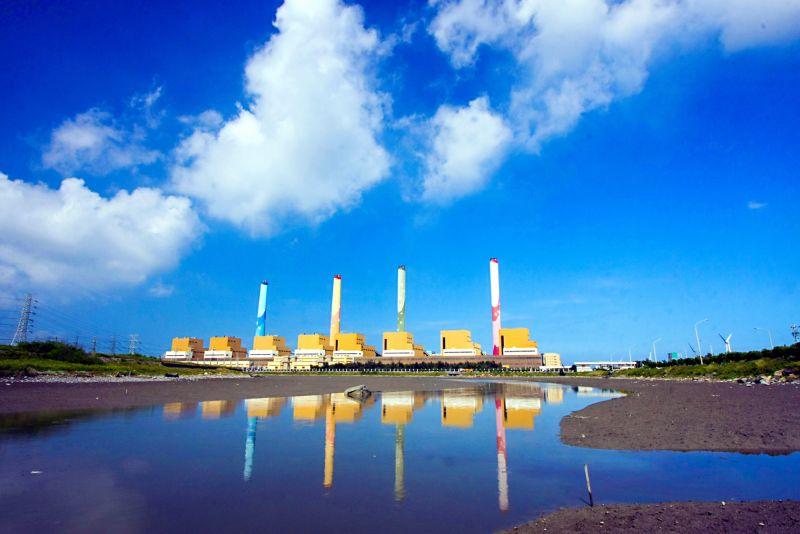 ▲台電呼籲希望社會各界支持台中電廠新建燃氣機組,延續台中空品改善好成績。(圖/台電提供)